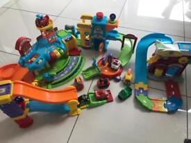 VTech Toot Toot cars bundle