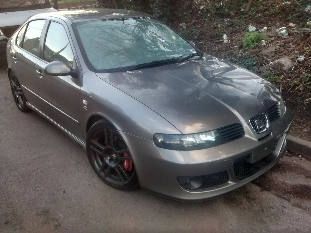 2004 seat leon 1 8 20v 225 r cupra 5dr grey bam fzq l57u breaking for spares in shirley west. Black Bedroom Furniture Sets. Home Design Ideas