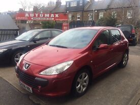 Peugeot 307 1.6 HDi S, 6 MONTHS FREE WARRANTY