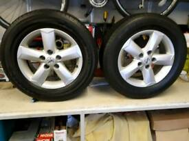 Nissan Qashqai Wheels (Ideal for Winter Tyres)