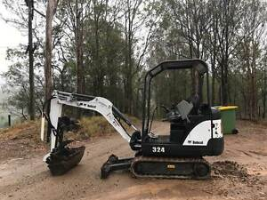 Excavator Bobcat 324 Gympie Gympie Area Preview
