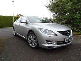 #### 2010 Mazda 6 2.2Diesel 185BHP top Spec SL Model, Fully Loaded #####