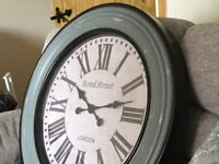 Oak furniture land clock