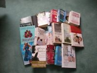20 Books Hardback and paper back - authors include Danielle Steel & Catherine Cookson