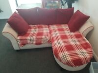 corner sofa (movable to left or right corner)