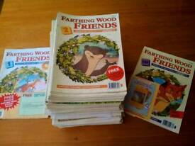 Children's animal of farthing wood creative magazines / books