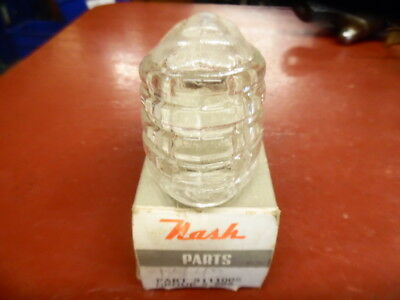 1942 NASH AMBASSADOR PARKING LIGHT LENS NEW OLD STOCK CEM