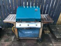 Outback Gas BBQ Large Triple Grill Barbecue