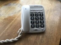 BT large button telephone