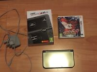 Near new Nintendo 3DS XL Black edition with Pokemon Y plus charger