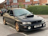 Subaru Impreza Turbo Uk 2000 V5 1998/V reg 11Months Mot 280bhp W/Mods £3900