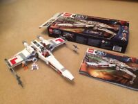 Lego Star Wars X-Wing Starfighter 9493 Complete Set with Box