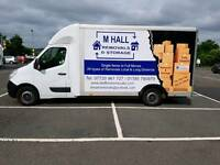 M Hall Removals man and van stafford