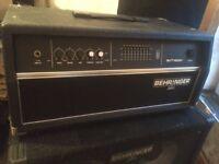 bass amp 450w , 600w cab