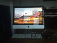 Apple 21.5 inch iMac 2.5ghz i5 Intel Processor excellent condition