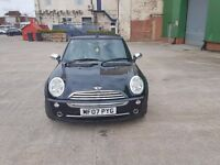 MINI ONE CONVERTIBLE, OWNED FROM NEW, FSH, EXCELLENT CONDITION