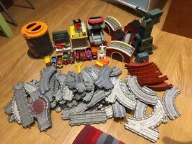 Thomas the Tank Engine trackmaster train set.
