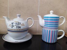 Single cup teapot sets