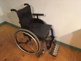 LIGHTWEIGHT Kuschall Fusion Manual WHEELCHAIR - Sports Carbon + extras RRP £3200 - JUST £450 -