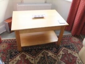 Nice solid oak coffee table Branded 'PROVENCE'. 900mm x 600mm