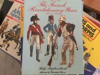Used book - uniforms of the french revolutionary wars