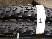 Mountain bike tyres and inner tubes , 26 inch