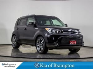 2016 Kia Soul SX LUXURY. LEATHER. ROOF. NAVI. CAMERA. BLUETOOTH