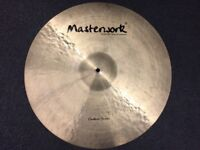 "Masterwork Custom Series 22"" Extra Thin Ride Cymbal - MINT Condition"