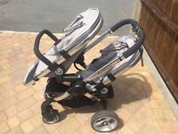 Icandy Peach Blossom pushchair and accessories