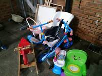 Bike & scooter & more, all Free garage clearance, must go today
