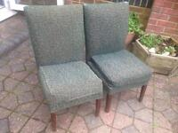 Pair of 1930's Bedroom chairs- £15 collect Fareham Po15