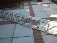 ABRU STARMASTER EXTENSION LADDER - collect in person from Warrington