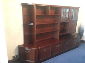 Mahogany Dining & Living Room Furniture available as a set or individually (prices below)