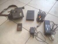 Panasonic movie maker camcorder set
