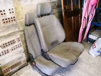 Vw t4 double and single front seats