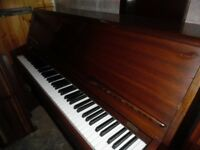 upright piano by monington and weston
