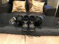 F2 Snowboard, Flow Soft Bindings and Flow Boots