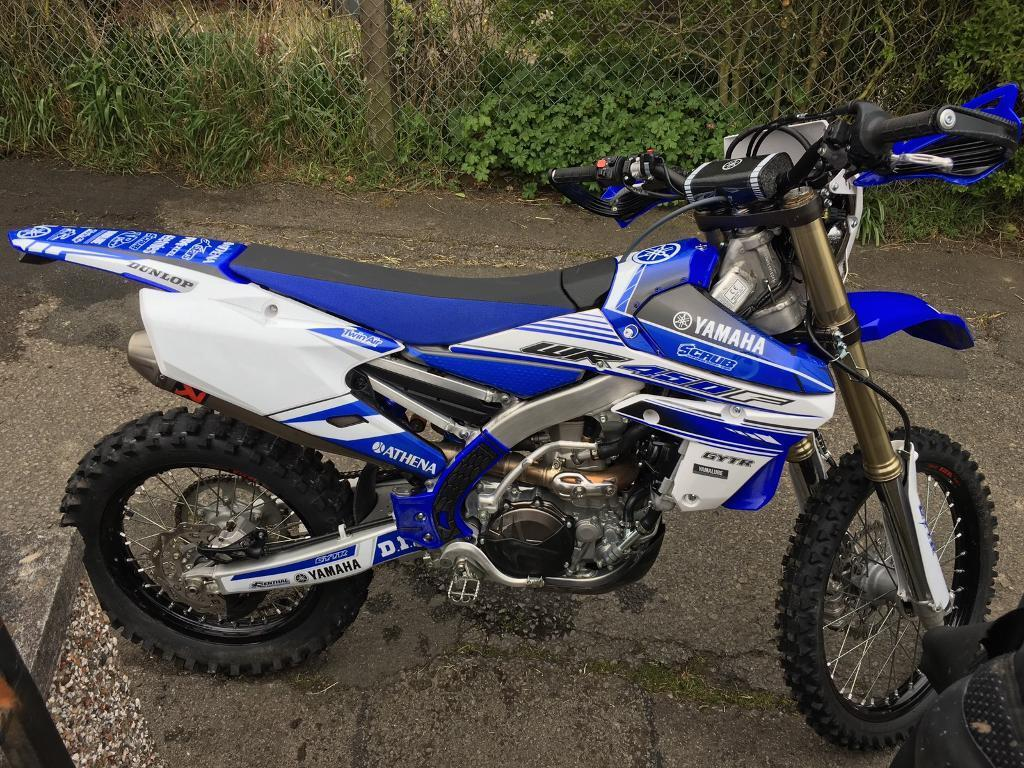2017 yamaha wr 450f not yzf 450 crfx 450 in blaina blaenau gwent gumtree. Black Bedroom Furniture Sets. Home Design Ideas
