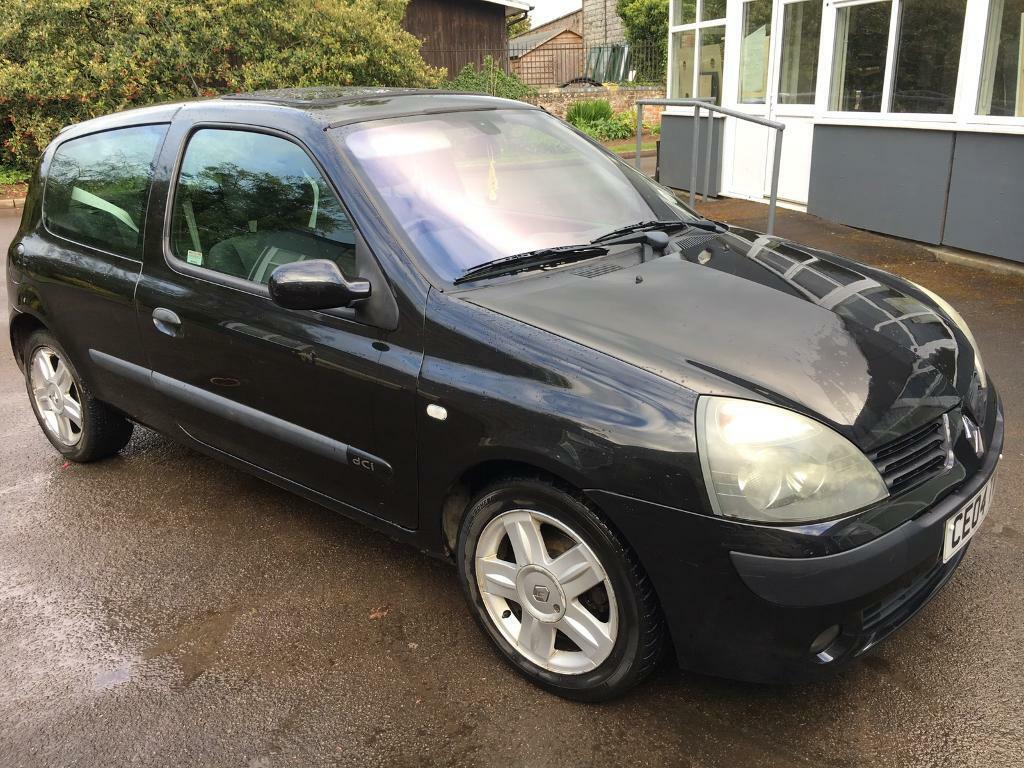 renault clio 1 5 dci dynamique diesel 2004 65mpg 30 road tax in gloucester. Black Bedroom Furniture Sets. Home Design Ideas