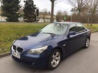 2004 54 BMW 5 Series 525D 6 Speed Manual Full Black Leather Interior 3 Owners PX Welcom