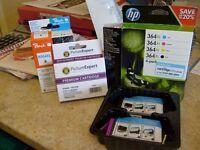 364XL H.P. ink cartridges