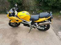 sv 650 nice condition for year twin pipes