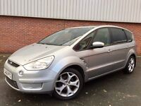 FORD S-MAX TITANIUM 2.0 TDCi#7 SEATER#LEATHERS#DVD#PANORAMIC SUNROOF