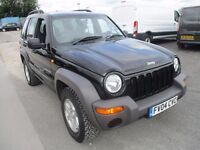 Jeep Cherokee 2.5 CRD Sport Station Wagon 4x4 £2,695 ono LOW MILEAGE LONG MOT