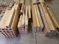 Stair Parts & Accessories Landing Balustrade Spindles Newels Posts Rails & Bases