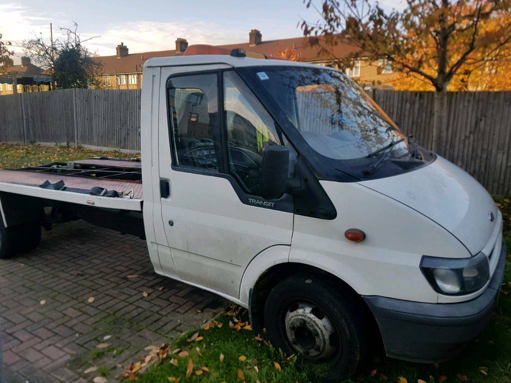 Ford Transit t350 Recovery Truck winch included