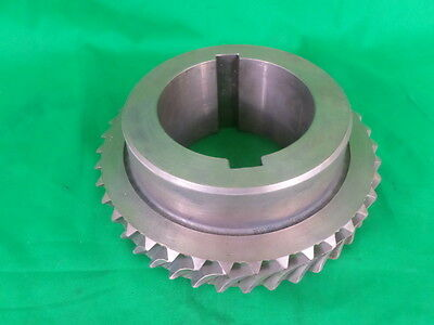 Cone Drive Textron Worm Gear And Shaft