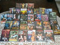 32 Man Appeal DVDs, 27 New and Sealed, plus 5 as new. Most Rated 18 and 15. Bargain the lot for £10.