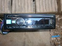 car stereo alpine usb aux bluetooth vgc allworks with leads