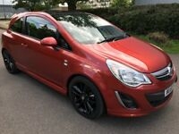 Vauxhall Corsa Limited Edition 1.2 16V 3dr 2012***Low Mileage, Full Service History